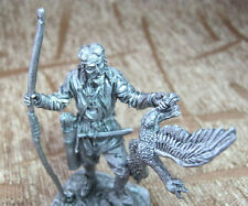Collection Tin Figure Scandinavian Hunter TOP QUALITY METAL Toy soldier 54 mm