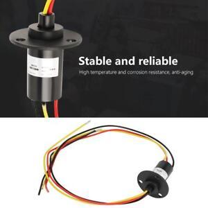 250RPM 15A Mini Schleifring 3 Wires Wind Generator Slip Ring 600V 300mm NEU
