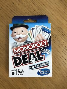 Monopoly Deal Card Game New Sealed