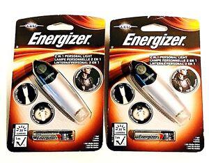 2x Energizer Lighting LED 2 in 1 Hand- Free Personal Flashlight 30 Lumens