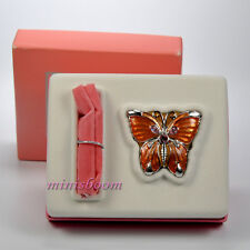 Estee Lauder PLEASURES BUTTERFLY Solid Perfume Compact New in Box RARE