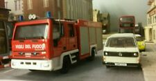 1:72 76 HO/OO/00 Iveco Magirus City 2000 Eurofire Fire Engine Model Italian