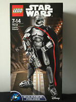 LEGO Star Wars CAPTAIN PHASMA #75118 Buildable Figures 26 CM RARE