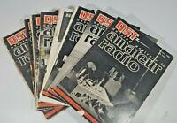 Vintage Lot Of 8 Qst Amateur Radio Magazines Ham Radio 8 issues 1948