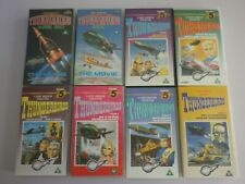 THUNDERBIRDS VHS VIDEOS X 8