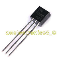 10Pcs 2N7000 MOSFET N-CHANNEL 60 Volts 0.2 Amps TO-92 New
