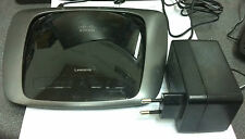Cisco / Linksys WAG160N 300 Mbps 4-Port 10/100 Wireless N ADLS2+ Router *