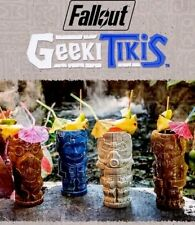 FALLOUT 3 4 GEEKI TIKIS COMPLETE SET POWER ARMOR, DOGMEAT, VAULT BOY, DEATHCLAW!