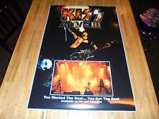 Kiss Alive III Promo Poster Print  24 X 36  Gene Simmons  WAY COOL!!