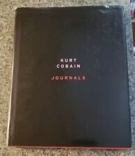 Journals by Kurt Cobain Suicide Nirvana Courtney Love Biography RARE HARDCOVER