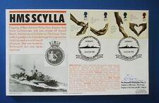 Service de santé de 1998 FDC officielle signée par chap Christopher avant, HMS Scylla