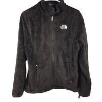 The North Face Womens M Medium Black Full Zip Jacket Ladies Casual