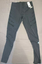 New Adidas Parley Speed Mens Long Running Tights Grey DP3947 Sz Medium