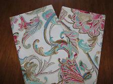 Ralph Lauren ANTIGUA Floral (One Pair) Standard Pillowcases  New