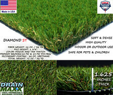 Gold 2.0 Synthetic Landscape Fake Grass Artificial Pet Turf Lawn 3' ft x 15' ft