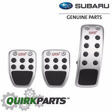 OEM 2010-2018 Subaru Pedal Pad Set M/T Impreza WRX STi Forester NEW C8110FG010