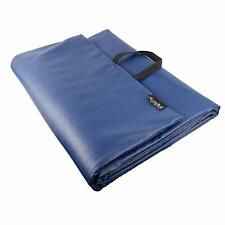 LP-100 Professional PU Leather Yoga Mat for Gym Indoor & Outdoor (Blue Colour UK