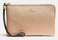 Authentic Coach Wristlet in Beechwood - w/Coach Box for Gifting! ($75)