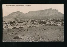 South Africa CAPETOWN Devil's Peak Table Mountain used 1920 PPC