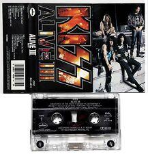 "KISS ""ALIVE III"" 1993 US MERCURY CASSETTE"