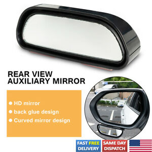 Blind Spot Mirror Wide Angle View Side View Safety Auxiliary Mirror Adjustable