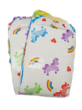"""1 Large 5000ML ADULT DIAPER NAPPY """"Pride"""" Rainbow UK Incontinence"""