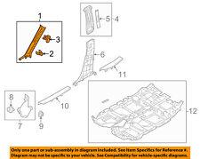 MAZDA OEM 17-18 CX-5 Interior-Wndshld Pillar Trim Left KB7W68170E75