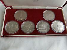 *D1/1412-10* CCCP Münzen 1980 Olympia in Etui
