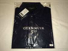 New Mens Glenmuir Islington Jersey Polo Shirt. Navy S H98