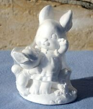 California Creations Mama Bunny with Baby Bunny Unpainted Statue JST1004