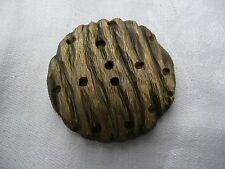 1 bouton vintage en résine
