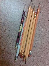 Used vtg pencils lot Dura-Kleen Halloween Illinois drunk driving Gregory Patacca