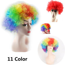 Party Clown Cosplay  Colorful Wigs  Children/Adults Dressing Curly Hair