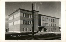 Perce Quebec School Real Photo Postcard