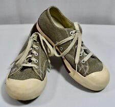 Keen Coronado Canvas Sneakers Taupe Gray Women's Size 8 US/ 38.5 EU Vulcanized