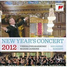 NEW YEAR'S CONCERT 2012 (2CD) Brand New! Sealed!