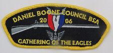 Daniel Boone Council 414 Asheville, NC; SA-9 ($35-$40) Eagles Gathering [JJ254]
