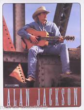 Alan Jackson 1999 Under The Influence Original Promo Poster