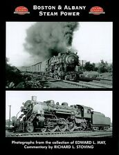 BOSTON & ALBANY Steam Power: beautiful look at B&A steam operations (NEW BOOK)