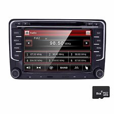 for VW Volkswagen Jetta Passat Car GPS Stereo CD DVD Navigator 2DIN Radio Canbus