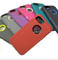 Hybrid Shockproof Hard Case Heavy Duty Rubber Cover iPhone XR 7 8 6s Plus XS Max