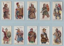 More details for cigarette cards - arms & armour (john player & sons) - complete set