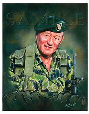 John Wayne Memorabilia,DRAWING OF JOHN WAYNE,Painting Of John Wayne,Green Berets