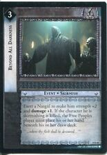 Lord Of The Rings CCG Card SoG 8.R68 Beyond All Darkness