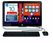 "HP Pavilion 23"" Screen All-in-One 1TB Wifi Windows 10, Word,Excel,PowerPint,"