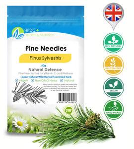 Pine Needle Tea & Extract Making dried needles vitamins suramin shikimic acid UK