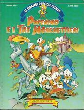 PAPERINO E I TRE MOSCHETTIERI (1992) LE GRANDI PARODIE DISNEY n° 5