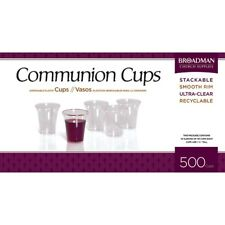 BRAND NEW -COMMUNION PLASTIC CUPS BOX OF 500