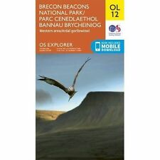 OL12 Brecon Beacons Western & Central Ordnance Survey Explorer Map OL 12