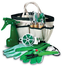 Mid Ocean Brands 8 Piece Indoor/Outdoor Gardening Tools Set includes Carry bag